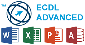 Loghi di Word, Excel, PowerPoint, Access, ECDL Advanced